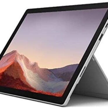 "Microsoft Surface Pro 7 12.3"" Tablet (Platinum) – Intel tenth Gen Quad Core i5, 8GB RAM, 128GB SSD, Home windows 10 Home, 2019 Version"