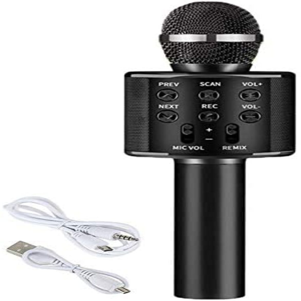 1PC Wireless Microphone Karaoke Transportable Player Speaker for Home KTV Outdoors Celebration Music Playing