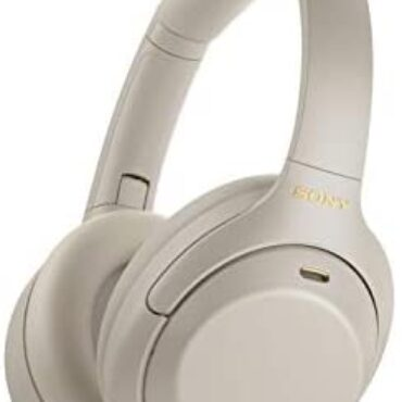Sony WH-1000XM4 Noise Cancelling Wi-fi Headphones – 30 hours battery existence – Over Ear style – Optimised for Alexa and the Google Assistant – with built-in mic for phone calls – Silver
