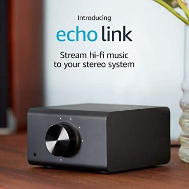 Echo Link | Circulation hi there-fi tune to your stereo machine (requires effectively matched Echo instrument for Alexa tell preserve an eye on)