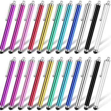 SuiYou Stylus Pen, 22 Pack Fashionable Capacitive Contact Veil Pens Smartly worthy with Apple iPhone iPad Pill Kindle Samsung Galaxy Notify and All Capacitive Displays Devices – 11 Colours