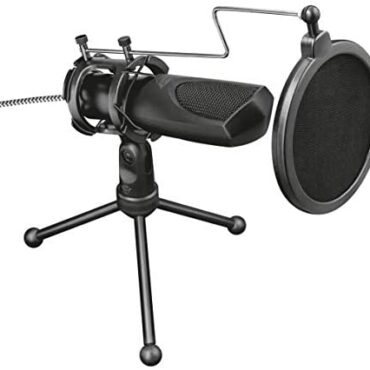 Have faith Gaming GXT 232 Mantis Streaming Gaming Microphone for PC, PS4 and PS5, USB Connected, Including Shock Mount, Pop Filter and Tripod Stand – Shadowy