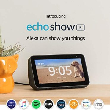 Certified Refurbished Echo Prove 5 | Compact orderly present off with Alexa, Unlit