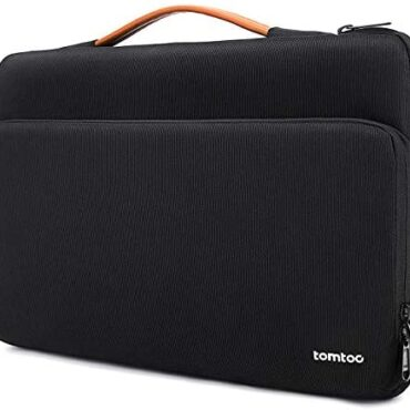 """tomtoc Computer pc Sleeve Delight in minded with 12.3″ Ground Pro, 13″ New MacBook Air M1/A2337 A2179 2018-2020, 13"""" New MacBook Pro M1/A2338 A2251 2016-2020, Dell XPS 13, Briefcase with Accent Obtain, Dusky"""
