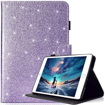 Billionn Case for Amazon Fire HD 10 (seventh Gen/ Ninth Gen, 2017/2019 Originate), Dapper Hide With Auto Wake/Sleep Feature, Purple