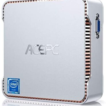 ACEPC Mini PC Dwelling windows 10 Pro, 8GB DDR4/128GB ROM, Intel Celeron J4125 Processor(Up to 2.7GHz) Micro Desktop Pc, toughen 2 HDMI/VGA Port, Dual Band Wi-Fi, Bluetooth 4.2, 4K UHD