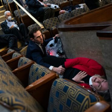 US lawmakers shared the desperate calls to loved ones they made while trapped in the House chamber as pro-Trump mobs banged on the doors