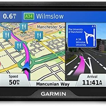Garmin Pressure 51LMT-S 5 Crawl Sat Nav with Lifetime Draw Updates for UK and Ireland and Free Are living Traffic, Shaded