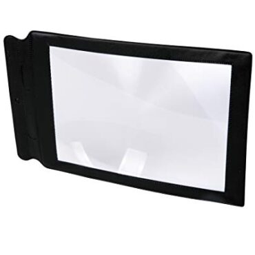 TickiT 48123 A4 Paunchy Online page Magnifier Sheet Nice Magnifying Glass Assisted Reading Inspire Lens