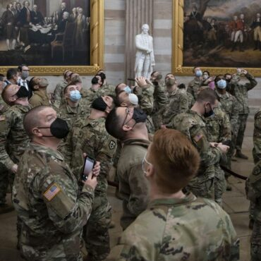 Reports: Over 100 Inauguration National Guard Troops Test Positive For Covid
