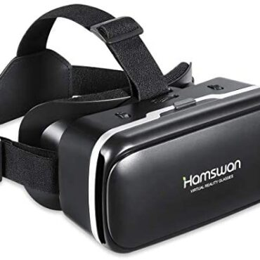 REDSTORM VR Headset, Virtual Actuality Headset, 3D Glasses, VR Goggles-for 3D VR Movies Video Video games with 100 Diploma FOV for iPhone X 8 7 6 plus, Samsung S6 S7 S8/Plus/Edge Existing 8 [2020 Edition]