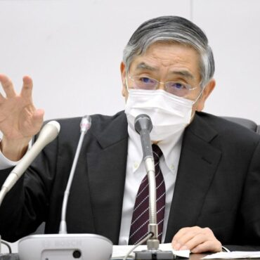 BOJ's Kuroda says explained March review plan to PM Suga