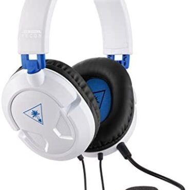 Turtle Seaside Recon 50P White Gaming Headset for PS4/Xbox One and PC
