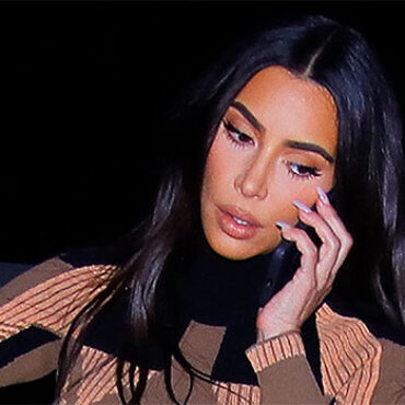 Kim Kardashian Pictured Without Her Wedding Ring Night Before Filing For Divorce From Kanye West