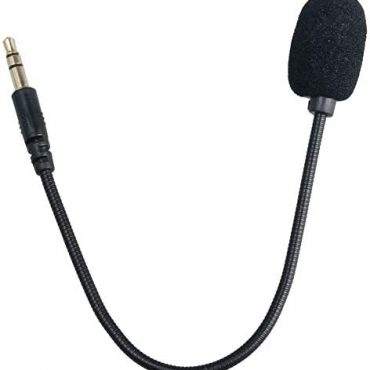 REYTID High Quality Skilled Removable Stereo Microphone 3.5mm Sound Mic for Gaming/PC Headsets