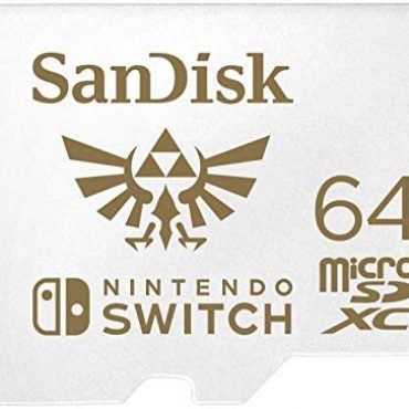 SanDisk microSDXC UHS-I card for Nintendo 64GB – Nintendo licensed Product