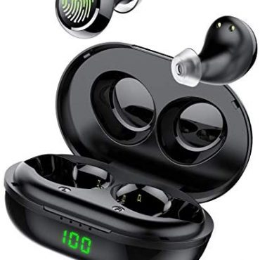 Tiksounds Wireless Earbuds, Noise Cancelling Wireless Earbuds Headphones in Ear with Mic, IPX7 Water-resistant Headphones 36H Playtime Workout Earbuds Built-in Mic Bluetooth Earbuds