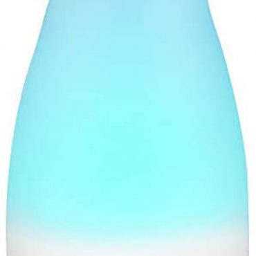 Criacr 150ml Wanted Oil Diffuser, Frigid Mist Humidifiers with 7 Peevish Colored LED Lights, Adjustable Mist Mode, Waterless Robotically Shut-off, Lisp-Quiet for Christmas, Dwelling, Bedroom, Spa