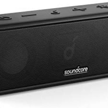 Soundcore 3 Bluetooth Speaker with Stereo Sound, Pure Titanium Diaphragm Drivers, PartyCast Know-how, BassUp, 24H Playtime, IPX7 Waterproof, App for Custom EQs, Utilize At Dwelling, Starting up air, Shoreline, Park