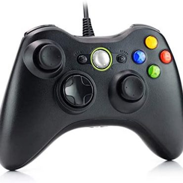 Dhaose Wired Controller for Xbox 360, USB Wired PC Joystick Gamepad for Xbox 360,Improved Ergonomic Originate Controller for Xbox 360 Slim PC with Dwelling windows Vista/7/8/8.1/10