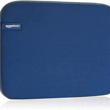 Amazon Fundamentals 11.6-Meander Pc Sleeve -Navy