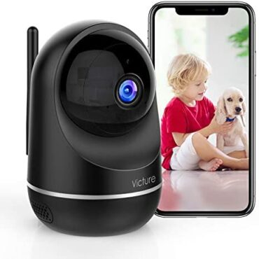 Victure Wifi Camera, Up as a lot as now Dualband 2.4GHz and 5GHz Indoor Camera, Minute one Video display, 1080P Home Security Camera with Roam Detection by IPC360 Home App, 2-Scheme Audio for Minute one/Elder/Pet,works with Alexa