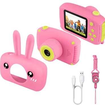 Etpark Young folks Digital camera, Digital Digital camera 2.0 proceed for Adolescence with 12MP HD 1080P Video Recorder & Lanyard Anti-Drop Compose Mini SLR Helps Small Video games USB Transfers Boys Girls Inventive items