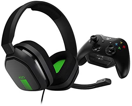 ASTRO Gaming A10 Wired Gaming Headset + Controller-Mounted MixAmp M60, ASTRO Audio, Dolby ATMOS, Game:Thunder Steadiness Alter for Xbox Series X|S, Xbox One – Gray/Green