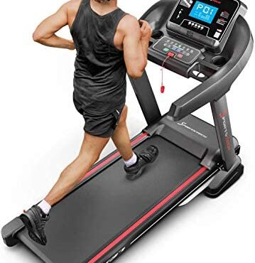 Sportstech F37 Educated Treadmill – German Quality Sign – Video Occasions & Multiplayer App, 7hp to twenty km/h + lubrication system, foldable, huge surface, TÜV/GS, pulse belt, speaker, as a lot as 150kg