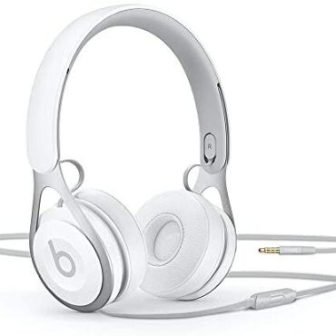 Beats Ep Wired On-Ear Headphones – Battery Free For Limitless Listening, Built In Mic And Controls – White