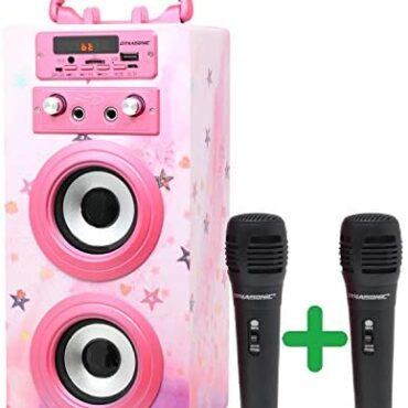 DYNASONIC (3º Generation Microphone Karaoke Speaker, ideal for normal teenage gifts for youths ladies toys, child toys (Model 15)