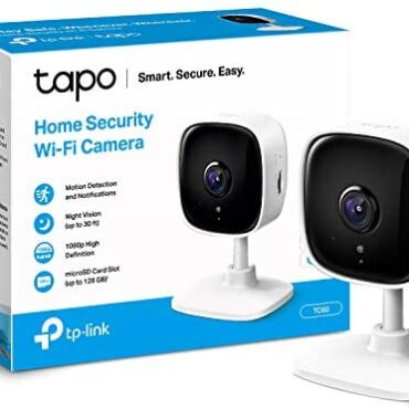 TP-LINK Tapo Mini Neat Security Camera, Indoor CCTV, Works with Alexa&Google Home, No Hub Required, 1080p, 2-Attain Audio, Evening Imaginative and prescient, SD Storage, Tool Sharing (TC60) [Amazon Exclusive]