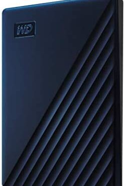 WD 2 TB My Passport for Mac Transportable Arduous Force – Time Machine Ready with Password Security, Hour of darkness Blue
