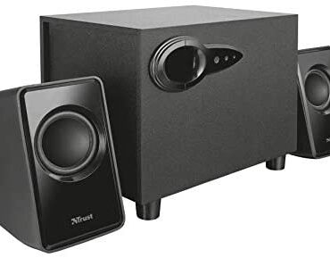 Have faith 20442 Avora 2.1 PC Speakers with Subwoofer for Laptop and Laptop, USB Powered, 18 W