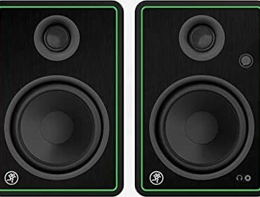 Mackie CR5-X Active 5″ Creative Reference Monitors – 80 W Computer Speakers supreme for DJ Manufacturing, House Studios, Deliver material Creators, Gaming and Listening to Tune