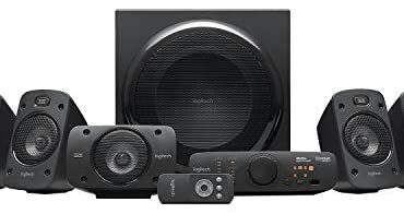 Logitech Z906 5.1 Encompass Sound Speaker Machine, THX, Dolby & DTS Licensed, 1000 Watts Prime Energy, Multi -Procedure, More than one Audio Inputs, UK Scamper, PC/PS4/Xbox/Song Player/TV/Smartphone/Tablet