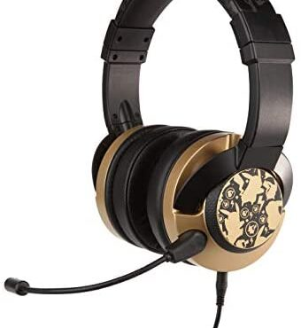 Pokemon Pikachu Gold Wired Gaming Headset/Headphones for Xbox, PS4, Nintendo Switch, PC, Mac, Mobile