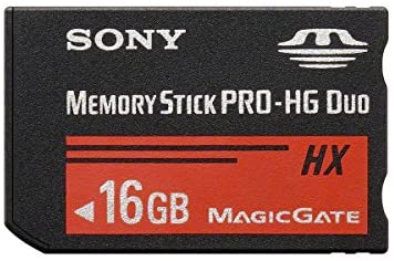 Sony MSHX16B 16GB Flash Memory Card without adaptor