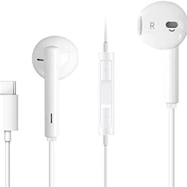 In-Ear Kind C Headphones, USB C Earphone, HiFi Audio Wired Earbuds Headset with Mic A long way flung & Quantity Attach watch over Compatible with Google Pixel 3/3XL,Samsung galaxy Exhibit 10/S20,huawei Mate 30/p30,OnePlus 6T