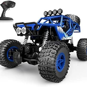 Tecnock RC Vehicles 1:16 Scale Far away Management Car with 50 Mins Play Time ,four wheel power Off Toll road RC CrawlerMonster Truck Toys,2.4Ghz RC Buggy, All Terrain Automobile for Boys Ladies (Blue)
