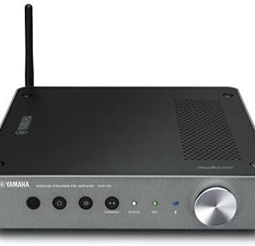 Yamaha WXC-50 – Alexa smartly matched wi-fi streaming pre-amplifier with Wi-Fi and Bluetooth – Sunless