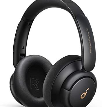 Soundcore by Anker Lifestyles Q30 Hybrid Active Noise Cancelling Headphones with More than one Modes, Hi-Res Sound, Customized EQ through App, 40H Playtime, Delighted Match, Bluetooth Headphones, Hook up with 2 Devices