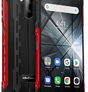 """Rugged Cellphone (2019), Ulefone ARMOR X3 with Underwater Mode, Android 9.0 5.5"""" IP68/IP69K Outside smartphone, Dual SIM, 2GB RAM 32GB ROM, 8MP+5MP+2MP, 5000mAh Battery, Face Unlock GPS Pink"""