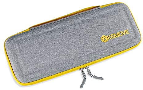 KEMOVE Laborious EVA Keyboard Sleeve Gallop Case Protective Pouch, Mechanical Keyboard Storage Carrying Case Take care of minded for 70% 65% 60% Gaming Keyboard